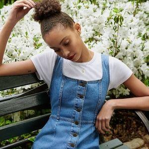 UO Button-Down Mini Dress
